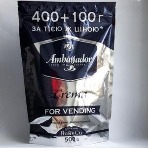 Растворимый кофе Ambassador Crema 500 гр