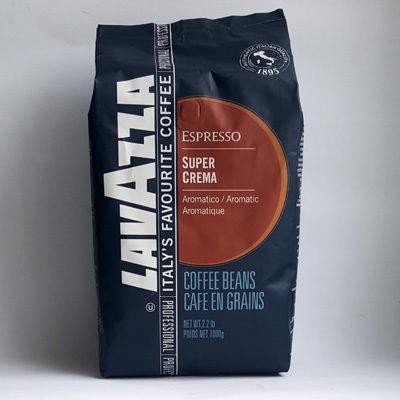 Кофе Lavazza Super Crema в зернах