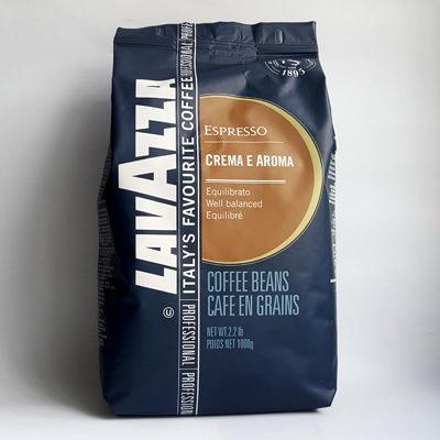 Кофе Lavazza Espresso Crema e Aroma в зернах