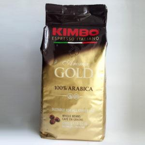 Кофе KIMBO Aroma Gold 100% Arabica в зернах 1 кг