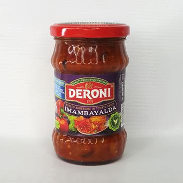 Соус томатный с очищенными баклажанами Imambayalda DERONI 250 г