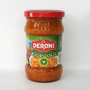Закуска с баклажанами KIOPOOLU DERONI 250 г