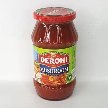 Соус томатный с грибами DERONI MUSHROOM SAUSE 520 г