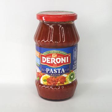 Соус томатный для спагетти и макарон DERONI PASTA SAUSE 520 г