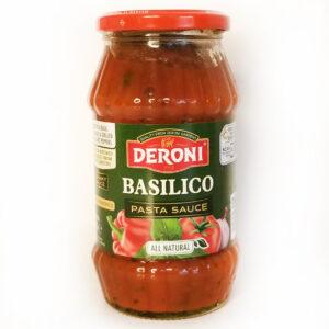 Соус томатный с базиликом DERONI BASILICO SAUSE 510 г