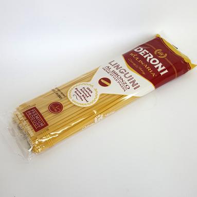 Спагетти DERONI Linguini Al Bronzo 400 г