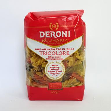 Макароны Deroni Fusilli Tricolore 400 г