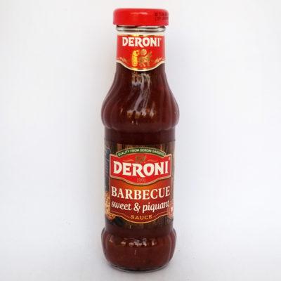 Соус Deroni барбекю сладко-пикантный 330 г