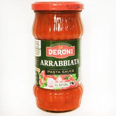 Соус томатный для пасты DERONI ARRABBIATA 310 г