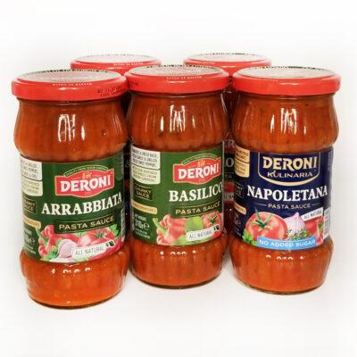 Соус томатный с базиликом DERONI BASILICO SAUSE 310 г