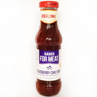 Соус к мясу Deroni Blueberry Chili BBQ 330 г