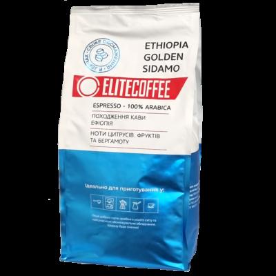 Кофе ELITECOFFEE ETHIOPIA GOLDEN SIDAMO в зернах 1 кг